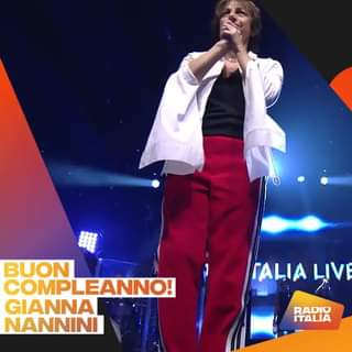 Meravigliosa creatura Gianna Nannini! Buon compleanno! Continua a farci emozionare!