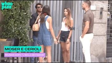 """Moser e Cerioli, reunion dopo """"L'isola dei famosi"""""""