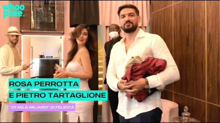 """Rosa Perrotta e Pietro Tartaglione: """"25 mila miliardi"""" di felicità"""