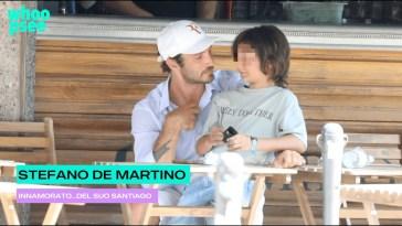 Stefano De Martino, innamorato… del suo Santiago