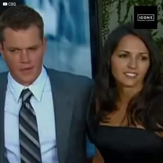 Appena Matt Damon ha visto Luciana, è rimasto colpito. L'argentina stava lavorando in un b…