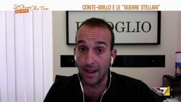 """Claudio Cerasa: """"Beppe Grillo è un uomo da palcoscenico, ogni svolta comica può essere …"""
