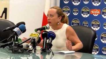 """Giorgia Meloni contro il centrodestra: """"Regole saltate, chiediamo rispetto"""""""