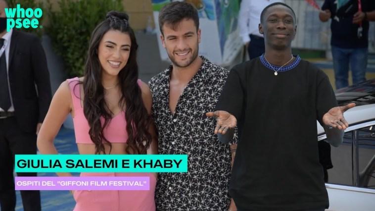 "Giulia Salemi e Khaby Lame ospiti del ""Giffoni Film Festival"""