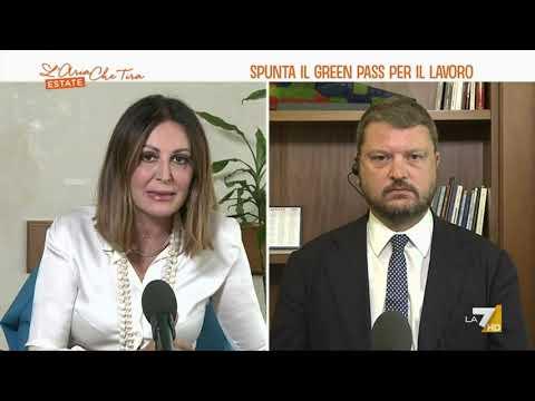 """Green pass, l'invito di Daniela Santanchè a Gennaro Migliore: """"Vieni a fare i controlli in …"""