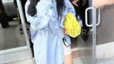 Rihanna ed ASAP Rocky sono stati visti uscire dagli Electric Lady Studios di New York City…