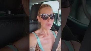 Stefania Orlando in viaggio con Simone verso la vacanza #Shorts