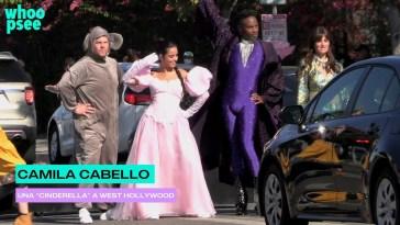 """Camila Cabello una """"Cinderella"""" a West Hollywood"""