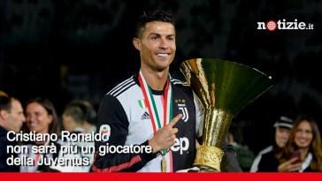 Cristiano Ronaldo lascia la Juventus: l'addio di Cr7 dopo 3 anni in bianconero