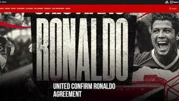 Cristiano Ronaldo torna a casa: al Manchester United