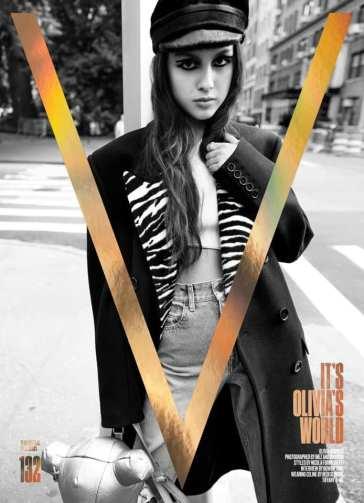 Photoshoot. Olivia Rodrigo è la protagonista del nuovo volume di V Magazine!