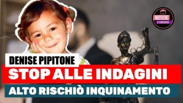 Denise Pipitone Alto rischiò inquinamento. Richiesto lo stop delle indagini… verrà tutto archiviato