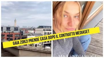 Gaia Zorzi prende casa dopo il contrato Mediaset come conduttrice di Grande Fratello Vip Party 2021 #gaiazorzi