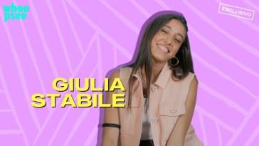 Intervista esclusiva a Giulia Stabile