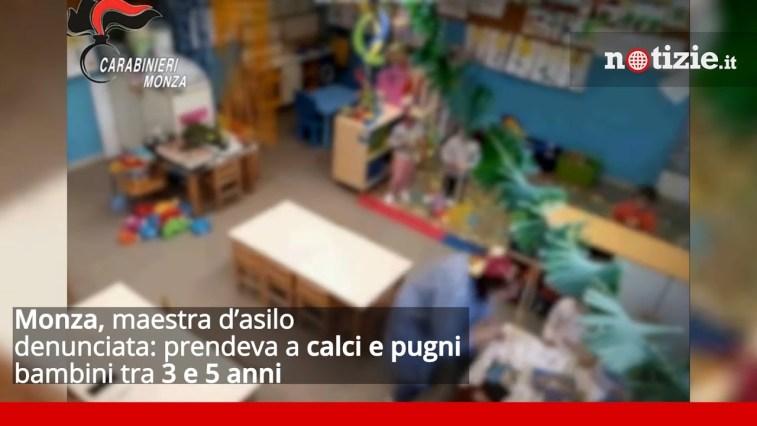 Monza, maestra d'asilo denunciata: prendeva a calci e pugni bambini tra 3 e 5 anni