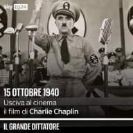 """81 anni fa usciva al cinema """"Il grande dittatore"""" di Charlie Chaplin: la pellicola ottenne…"""