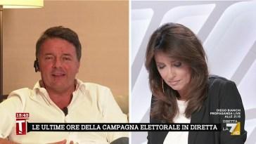 """Amministrative, Matteo Renzi: """"Il governo Draghi non ne risentirà. Avevamo ragione a voler …"""