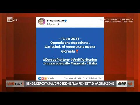 Caso Denise Pipitone: depositata opposizione alla richiesta di archiviazione – Ore 14 del 13/10/2021