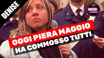 Denise Pipitone, Oggi Piera Maggio ha commosso tutti