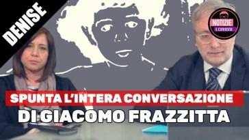 Denise Pipitone, SPUNTA l'intera conversazione Intercettata di Giacomo Frazzitta