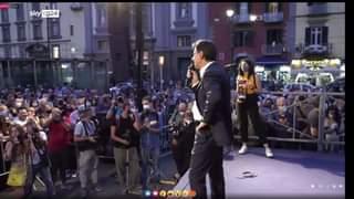 """Il leader del M5s Giuseppe Conte difende il reddito di cittadinanza: """"Abrogarlo? Dovranno …"""