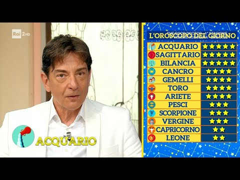 L'oroscopo di Paolo Fox – I Fatti Vostri 14/10/2021