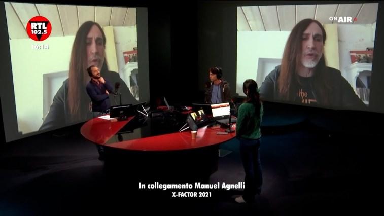 """Manuel Agnelli a RTL 102.5: X Factor 2021, """"""""I Bootcamp possono regalare soprese"""""""