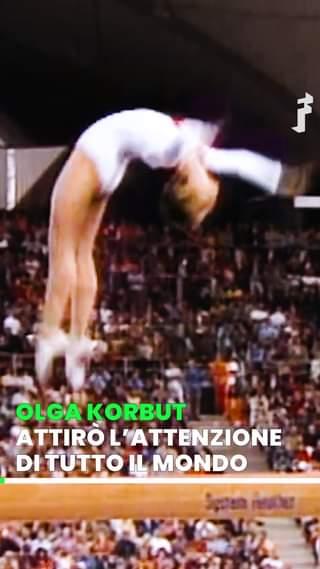 Olga Korbut, soprannominata 'Il passerotto di Minsk', alle Olimpiadi di Monaco del 1972 ha…