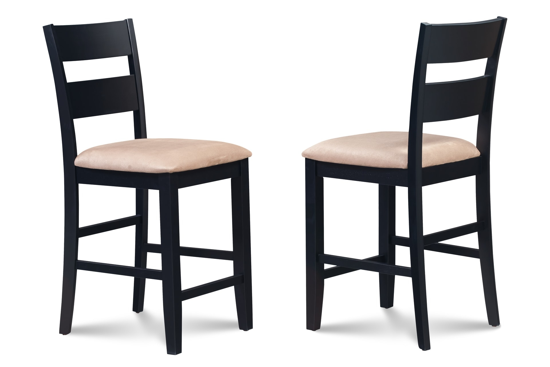 upholstered counter height chair body solid roman review table dining set sets