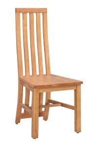 Toronto Wood Seat Solid Oak Chair (2 piece set) | TriThi ...