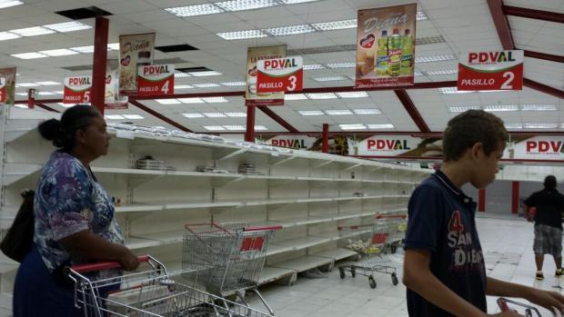 emptyShelvesVenezuela