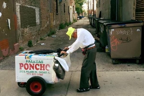 ông già bán kem