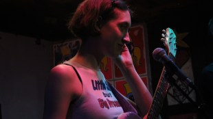 Frankie Cosmos at the Che Cafe (AJ Peterson/The Triton)