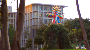 The Sungod watches over our campus rankings. (Daniel Lee / The Triton)