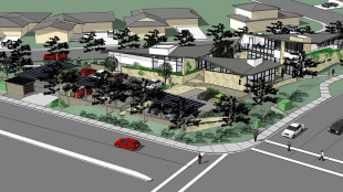 Proposed Hillel complex (Image courtesy of Hillel of San Diego)
