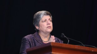 UC President Janet Napolitano. (Photo courtesy of ASIS International)