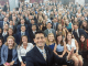 Paul Ryan posed with Republican congressional interns in July 2016