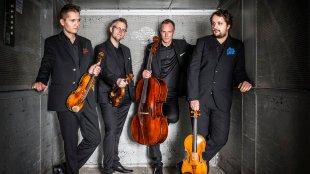 Photo courtesy of the Meccore Quartet website.