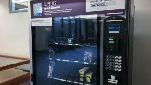 The Geisel AS Essentials Vending Machine. (Connor Gorry / The Triton)