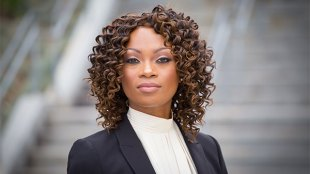 Photo of Genevieve Jones-Wright courtesy of Geneviéve Jones-Wright for District Attorney 2018.