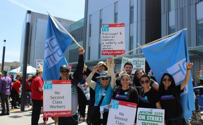 UC Workers Announce Strike to Protest Income Gaps and Job