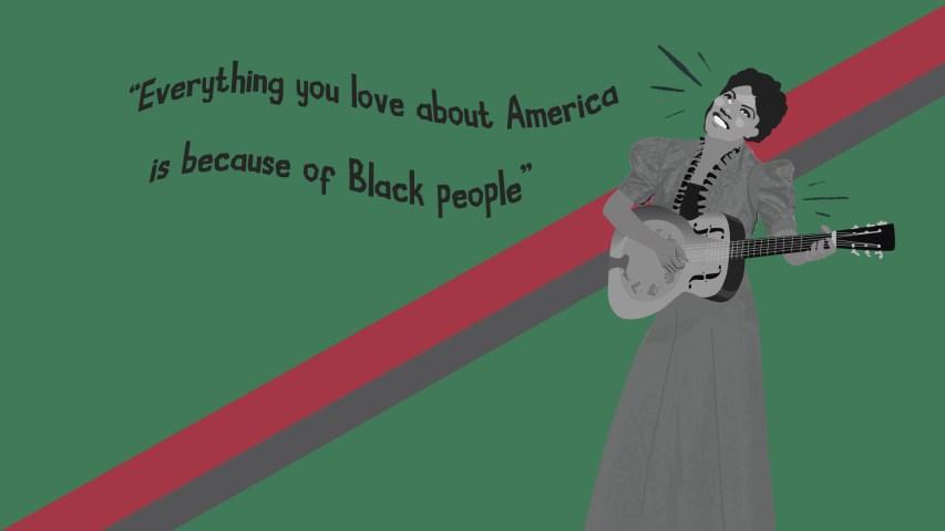black background Say it Loud I/'m Black and I/'m Proud