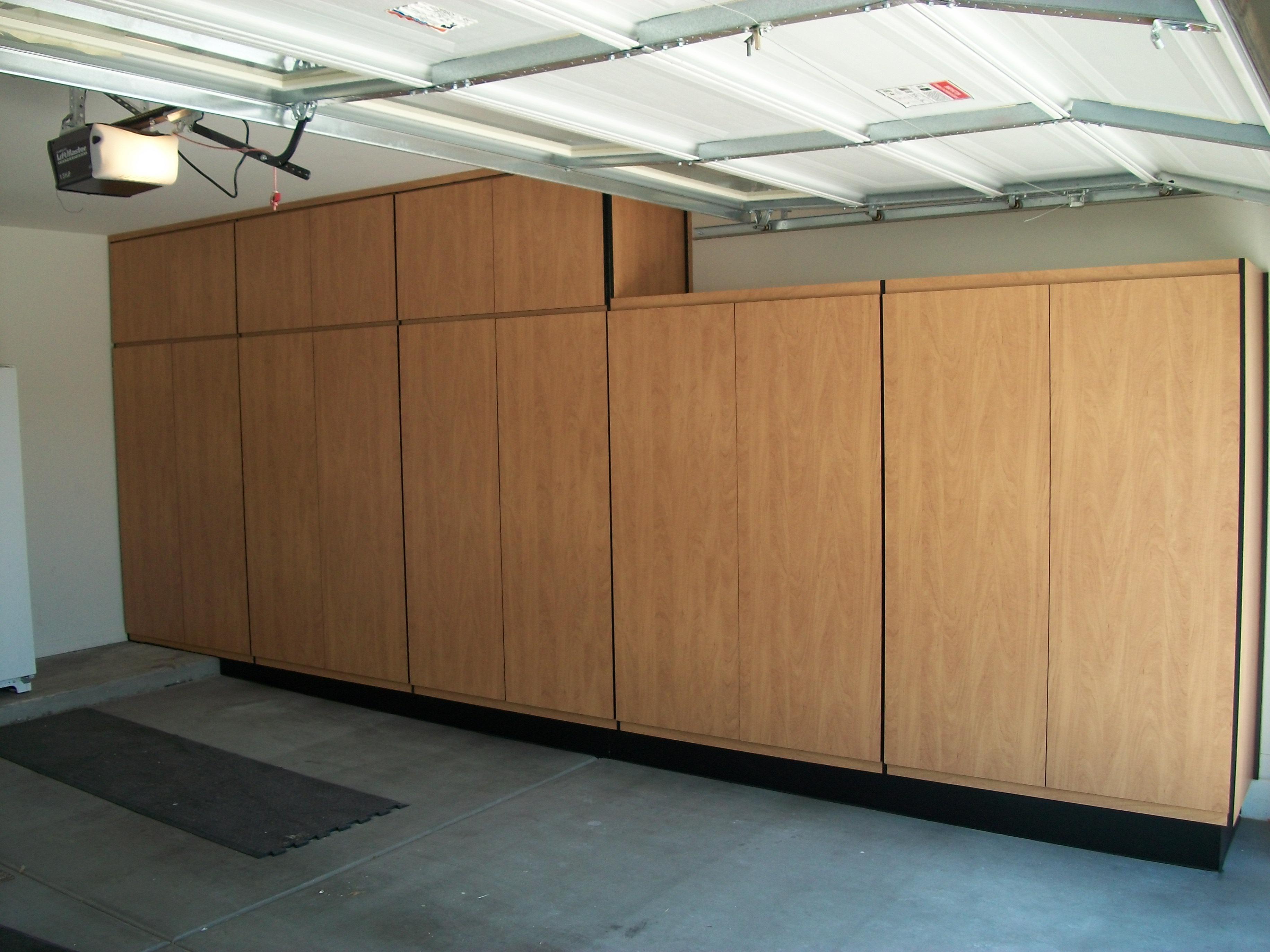 Woodwork Add On Garage Cabinets PDF Plans