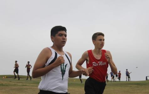 Cross Country Runs Towards Their Goals