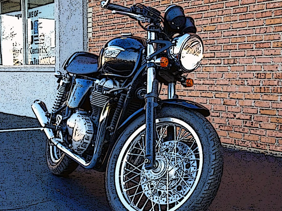 2012 Triumph Thruxton 900