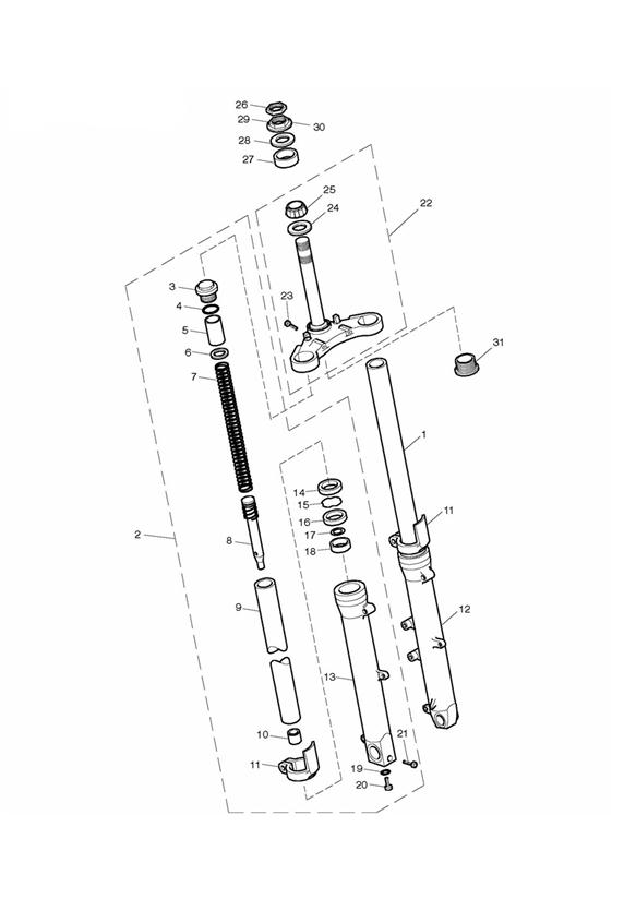 Changing Fork Oil | Triumph Bonneville  A Personal Moto Blog