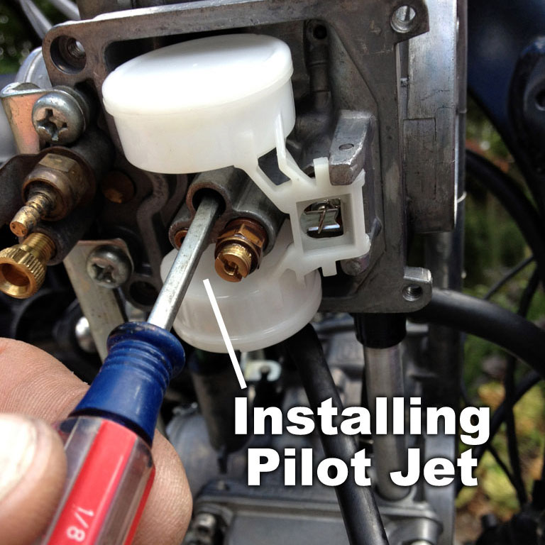 Re-jetting the Keihin CVK Carburetor