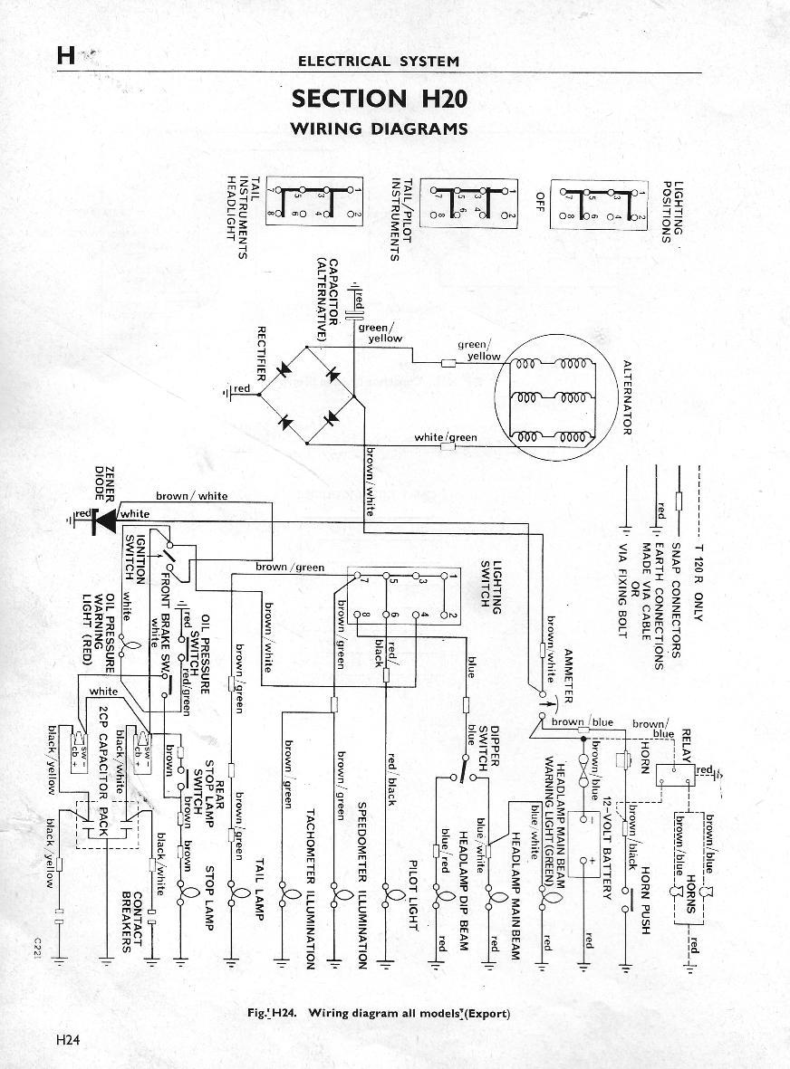 1971 triumph bonneville wiring diagram aiphone lef 3l terry macdonald tr6 t120