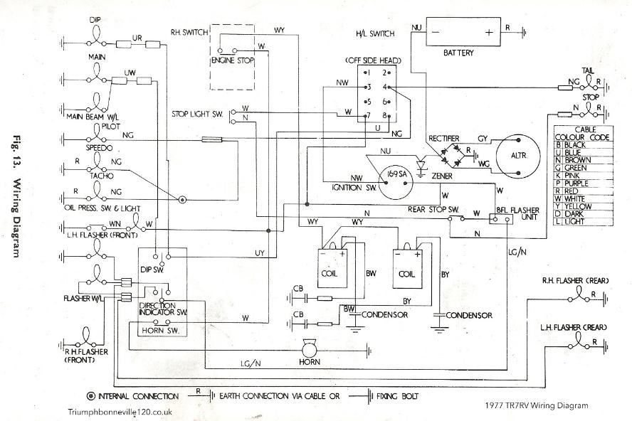 Triumph T120 Wiring Diagram Terry Macdonald