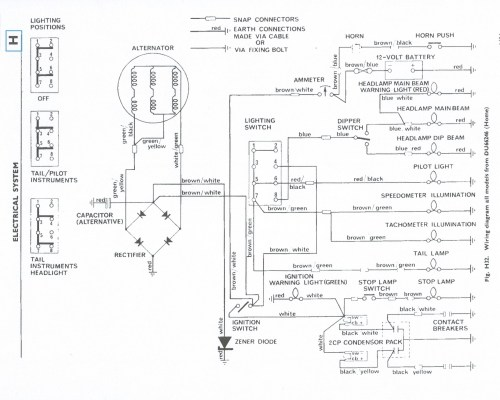 small resolution of  tr6 1965 triumph wiring diagram basic electronics wiring diagram on ignition switch diagram tr6 wheels